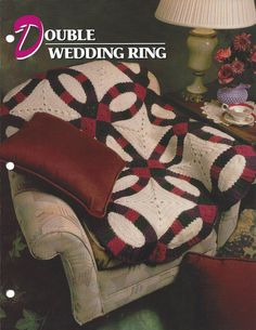 Northern Passages Double wedding rings Afghan patterns and Afghans