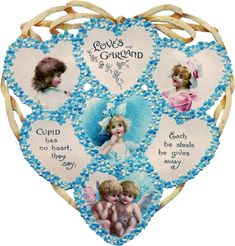 A sweet collection of Die Cut Valentines! A variety of lovely Valentine hearts, adorable children, cherubs, and nature scenes. Lily Valentine, Valentine Cupid, Valentine Picture, Valentine Images, Valentines Greetings, Victorian Valentines, Vintage Valentines, Valentines Diy, Cupid Images