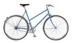 Damenrad Sport Pastellblau