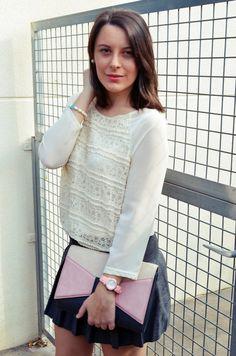 Pleated skirt - Mi Vestido Azul |Fashion and Lifestyle Blog | Spanish bloggerMi Vestido Azul |Fashion and Lifestyle Blog | Spanish blogger