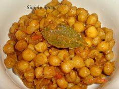 Simply Spicy: Chana Masala
