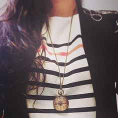 Love the compass necklace. Never get lost again!