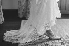 Sarah wore a Rue De Seine lace caftan | photography by benjaminandelise.com