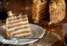 Hungarian Cuisine, Hungarian Recipes, Cake Cookies, Cupcake Cakes, Cupcakes, Sweet Recipes, Cake Recipes, Hungarian Cake, Hungarian Food
