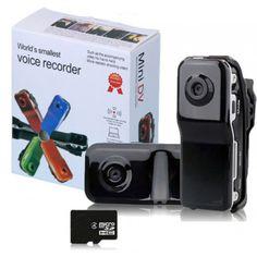 Mini DV Camera, Hidden DVR Video Recorder Sports Camcorder. Das weltweit kleinste Kamera