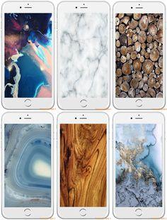 Fondos para el móvil: Ilustraciones y texturas | La Bici Azul: Blog de decoración, tendencias, DIY, recetas y arte