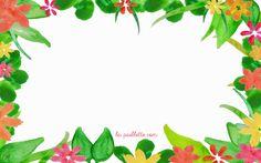 aquarelle fleurs watercolor watercolour flowers frais free wallpaper desktop fond d'écran