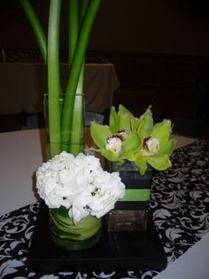 Love the simplicity of this centerpiece.