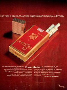 Cigarros Shelton #Brasil #anos70 #retro #vintageads #anunciosantigos #BrasilRetro
