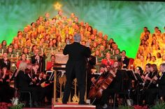 Epcot Candlelight Processional. Disney World Holiday event schedule at PixieDustDaily.com