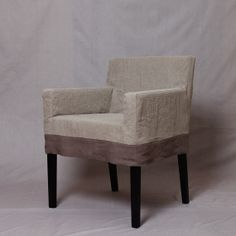 Nils Chair Short Slipcover with Contrast by RachelKerbyCouture, $95.00