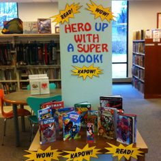 Superhero display