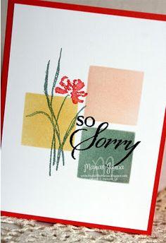 A Sympathy CARD, cQc#188, by Marian Garcia