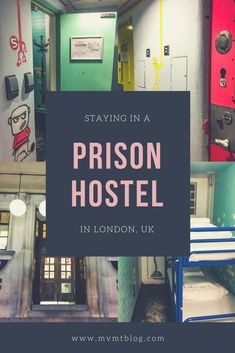 Ever wonder what it's like to stay in a prison cell? We spent a night in a prison cell room at Clink78, a hostel in London that was a former courthouse 200 years ago. This is the same courthouse where British punk rock band The Clash stood trial in 1978. Click through now to find out what our experience is like or pin for later!