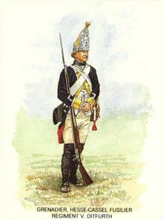 The British Army in America was very dependent on German auxiliary troops drawn from the principalities of Hesse-Cassel, Hesse-Hanau, Brunswick, Anhalt-Zerbst, Ansback-Beyreuth, and Waldeck. All supplied infantry and artillery, but Brunswick also...