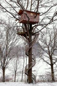 Cool treestand