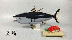 どうしてもマグロが食べたいけど貧乏だからレゴで作ってみた。 : レゴ道―LEGO way―