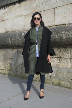 Galeria   Street Style na Paris Fashion Week - F/W 2015/16     VU MAG
