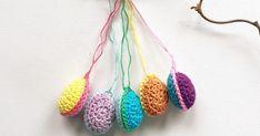 In the Yarn Garden: Easter eggs