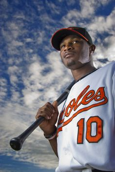 "Things are heating up in Birdland. Check out pictures of this season's ""hottest"" Orioles. Baltimore Orioles Baseball, Baltimore Ravens, Steelers Ravens, Adam Jones, Fantasy Baseball, Hometown Heroes, Home Team, Sports"