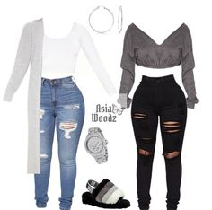 Cute Lazy Outfits, Swag Outfits For Girls, Teenage Girl Outfits, Cute Swag Outfits, Girls Fashion Clothes, Teenager Outfits, Dope Outfits, Teen Fashion Outfits, Chill Outfits