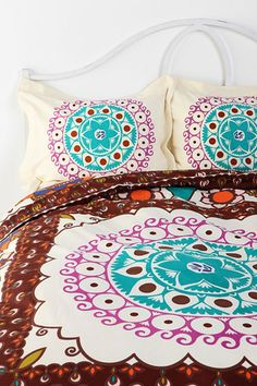 Shop for Boho Pillow Set at ShopStyle. Boho Duvet Cover, Duvet Covers, Urban Bedding, Urban Outfitters Bedding, Art Nouveau, Small Apartment Design, Apartment Ideas, Pillowcase Pattern, Boho Inspiration