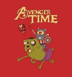 Avengers and Adventure Time mashup