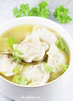 Pielmieni | AniaGotuje.pl Dumplings, Menu, Chinese, Ethnic Recipes, Food, Drink, Menu Board Design, Essen, Drinking