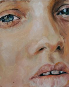 Abbey-Lee Kershaw portrait painting model oil original