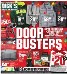 152491de17bd Dick s Sporting Goods Weekly Ad Black Friday Nov 23 - 25