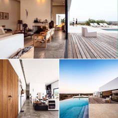 Stunning indoor/outdoor living in this house filled with collected items in Grândola, Portugal. cr @dwellmagazine  #interiordesign #interiør #interior #inspiration #inspirasjon #design #design123 #indooroutdoorliving