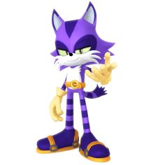 """I was playing around with that model I made of the playable character in Sonic Forces"""" and had the devilish idea of turning him into Big the C. What if: Skinny Big The Cat? Big The Cat, Sonic Birthday Parties, Sonic Dash, Cartoon Drawings Of Animals, Sonic Heroes, Sonic Fan Characters, Sonic Fan Art, Archie Comics, Totoro"""