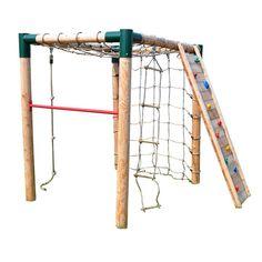 New Kletterger st Kletterturm Kletternetz Kletterseil Strickleiter Kletterwand Reck in Spielzeug Spielzeug f r drau en Spielt rme u