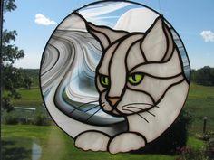Suncatcher chat blanc