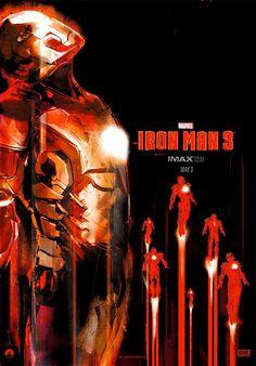 """Fantástico poster IMAX de """"Iron Man 3″"""