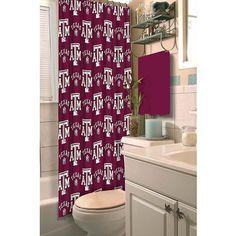 NCAA Texas A&M Shower Curtain