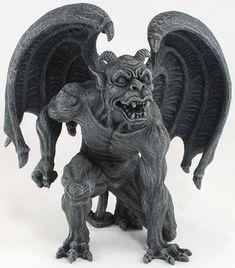 #pagan #wicca #witchcraft #celtic #druid #tarot Gargoyle Guardian Statue $23.95
