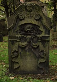 old tombstones and headstones | Old Headstone (by Stephen Callaghan )
