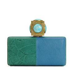 color-block clutch | Color Block Clutch