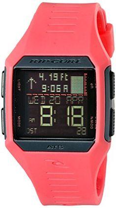 5d201dc4960 Rip Curl Womens Maui Mini Tide Quartz Plastic and Polyurethane Sport Watch  ColorPink Model A1126GPEA