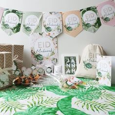 Eid – ANIQ DESIGN Eid Mubarak, Eid Eid, 5 Gifts, Gift Labels, Jute Bags, Cupcake Toppers, Paradise, Gallery Wall, Table Decorations