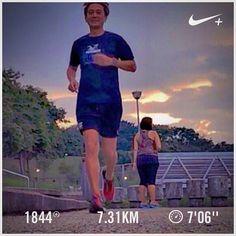 Pico! Barry is running  #barryisrunning  #run #runsg #nikeplus #nikerun #nikeplusrun  #runhappy #sgrunners #runnerscommunity #runnerinspiration #runforabettertomorrow  #correr #Corrida #instarunner #iphonerunner #iphoneonly #marathontraining #wearetherunners #worlderunners  #loverunning  #plantarfasciitis  #RunItFast #justrunlah #bedokreservoir