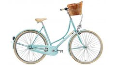 629 Creme Holymoly Solo - Bicicletas holandesas para mujer - 3-speed Turquesa