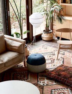 inspiring mid-century modern decor. / sfgirlbybay