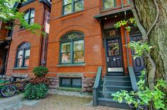 This Annex home at 51 Tranby Avenue is a good representation of the neighbourhood in all but one way -- its size. While the renovated interior marr. Annex, Dream Homes, Toronto, The Neighbourhood, Real Estate, Houses, House Design, Architecture, City