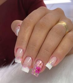 Cute Acrylic Nail Designs, Best Acrylic Nails, Bridal Nails, Wedding Nails, Trendy Nails, Cute Nails, Pink Nails, Gel Nails, Nagellack Design
