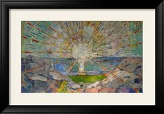 The Sun Prints by Edvard Munch - AllPosters.co.uk