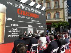 Rueda de Prensa Cruzcampo en el Festival de Cine. Pasedeprensa