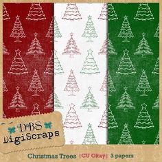 Scrapbooking TammyTags -- TT - Designer - DBS DigiScraps,  TT - Item - Paper, TT - Theme - Christmas