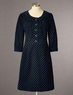 Placket Cord Dress